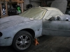Body work being done on jaguar at Ulohos