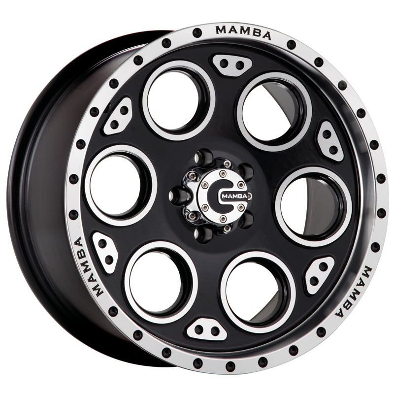 brand new 17 black mamba m5 truck wheels
